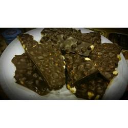 Breukchocolade met noot, puur