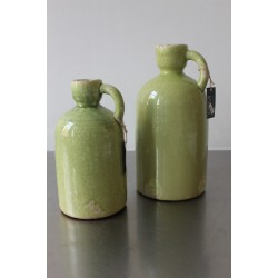 groene vasen, 2st.