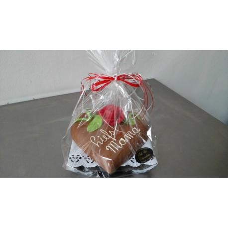 chocolade hart gevuld met bonbons
