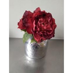 vaasje met rozen