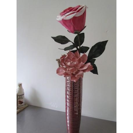 foamroos en rose foambloem